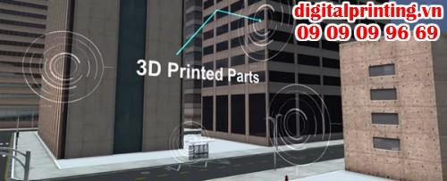Nhà bằng công nghệ in 3D tại Singapore